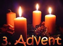 THIRD SUNDAY OF ADVENT 16th. December 2018